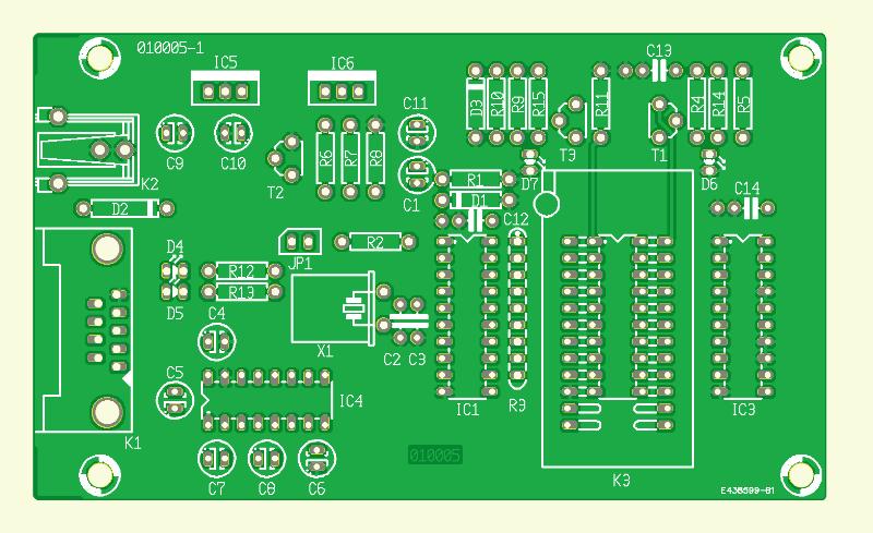 Atmel AVR Micro Programmer (010005-1)