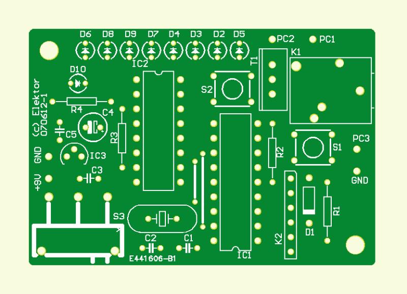 LED-ringflitser (print)