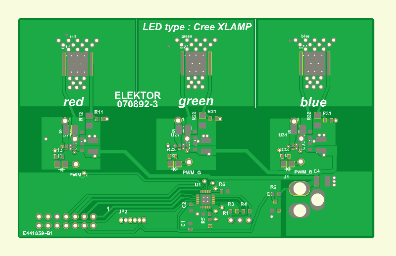 RGB-LED-sfeerverlichting Print 3