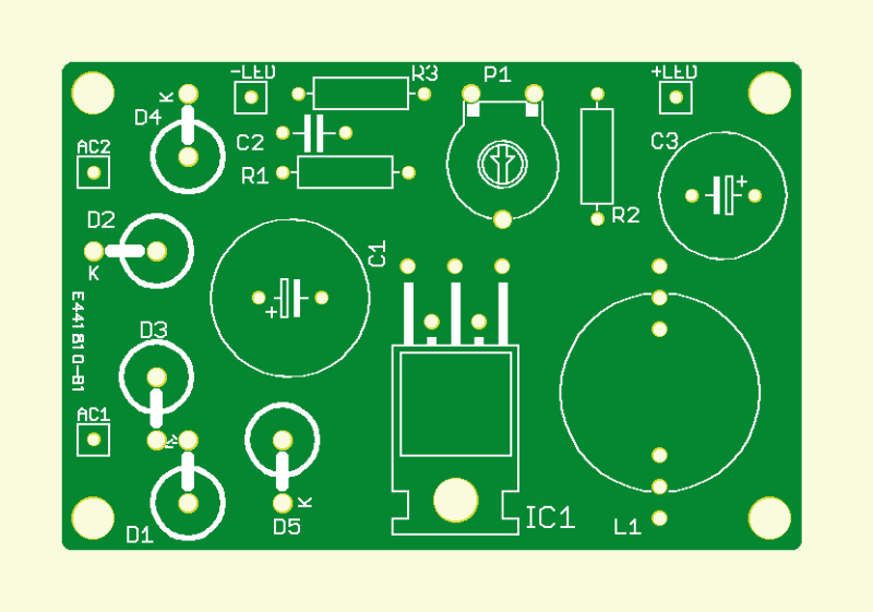 Luxe LED-fietslamp  (print )