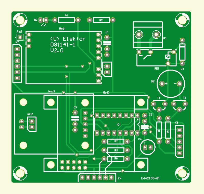 DMX512-stuurinterface (print)