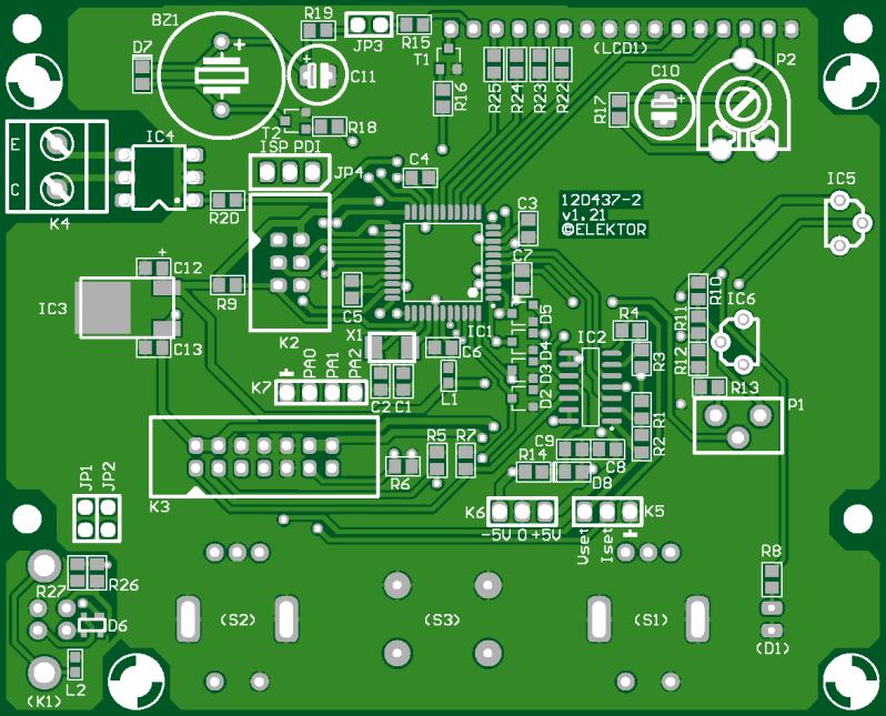 VariLab 402 (control-board) (120437-2)
