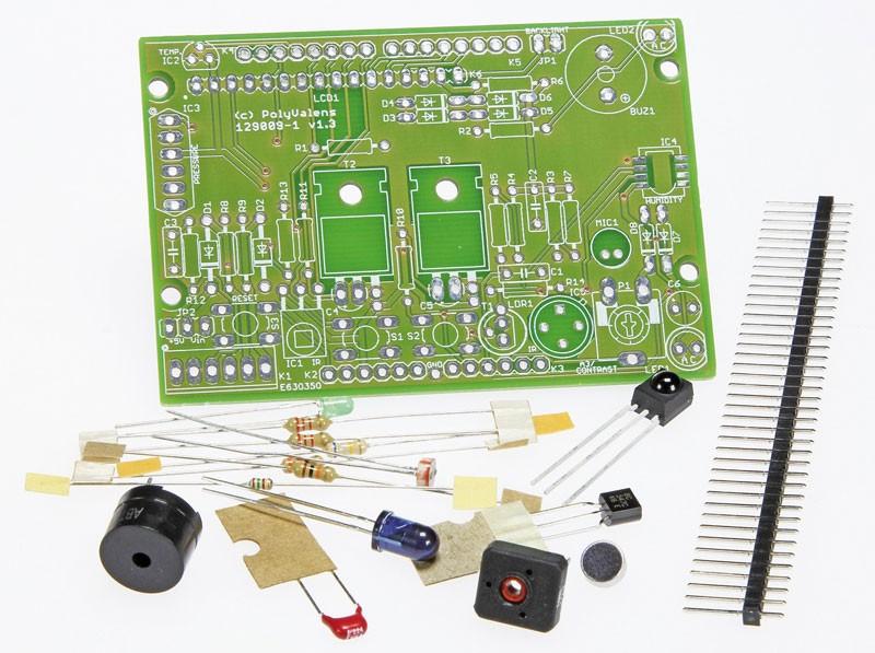 Kit behorende bij het boek 'Mastering Microcontrollers Helped by Arduino' (129009-71)