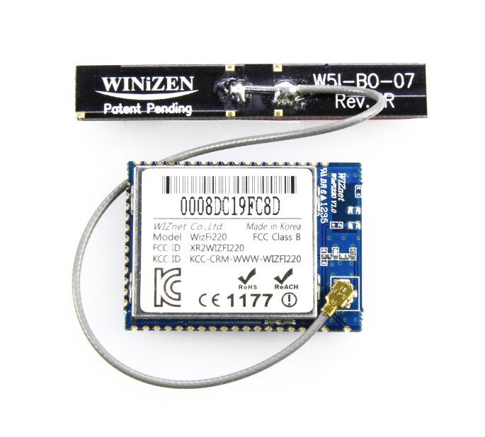 Module WizFi220 Serial to WiFi Module 130076-92 (High TX Power)