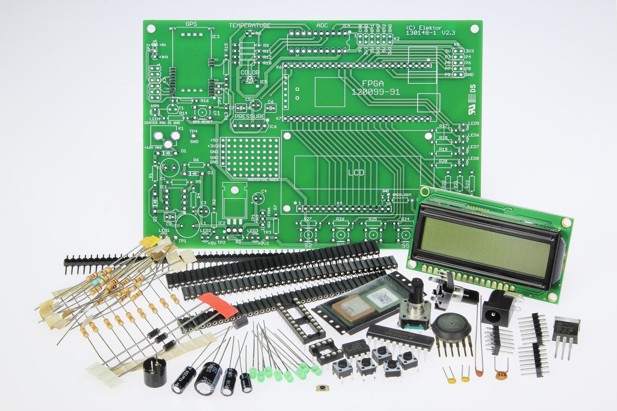 Uitbreidingsprint voor het FPGA-board (130148-71)