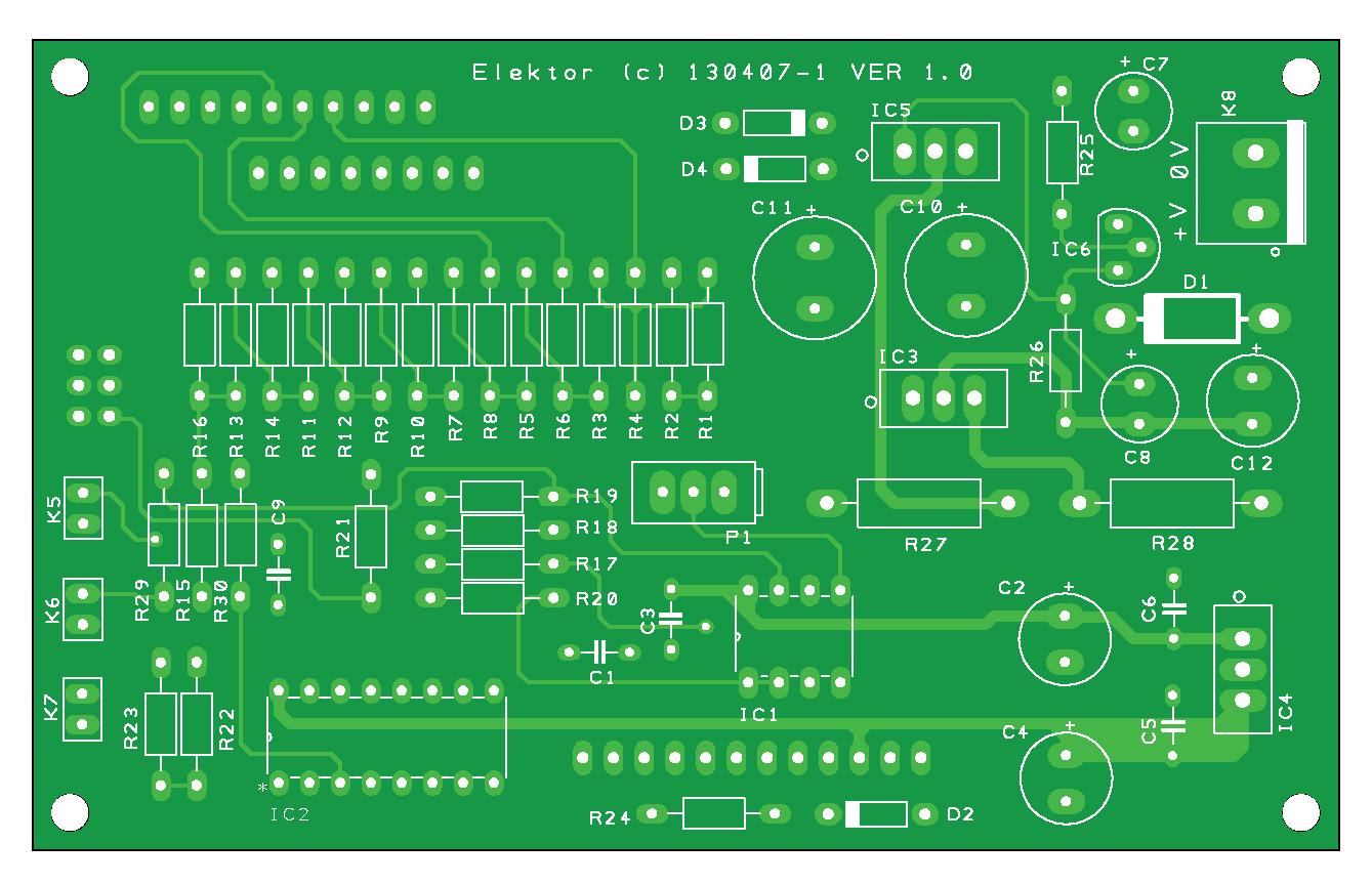Controller voor de Platino-functiegenerator (130407-1)