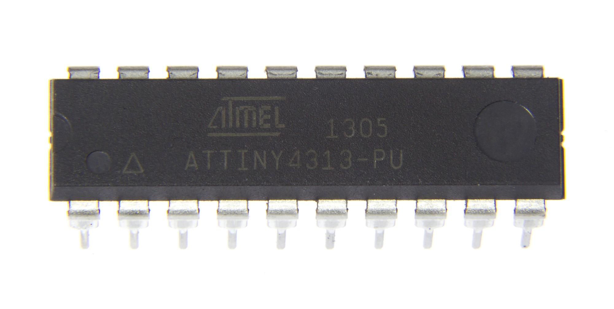 Geprogrammeerde microcontroller voor de ultrasone afstandsmeter (130546-41)
