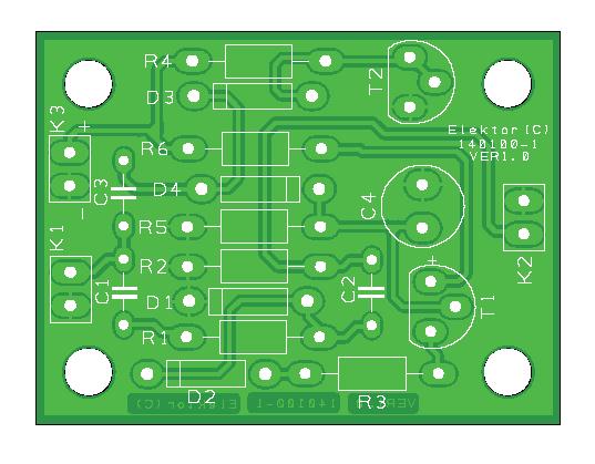 Compacte Dynamiekcompressor (140100-1)