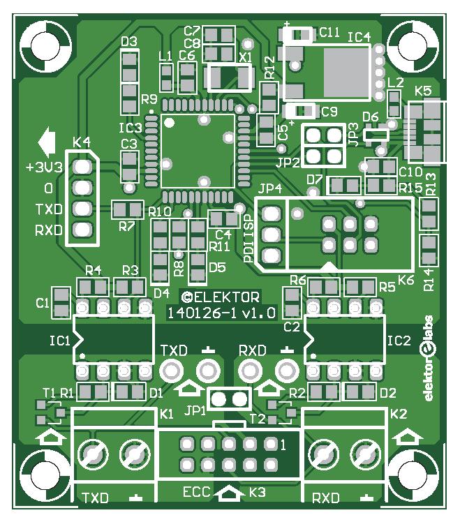 UART/RS-232S Datalogger (140126-1)
