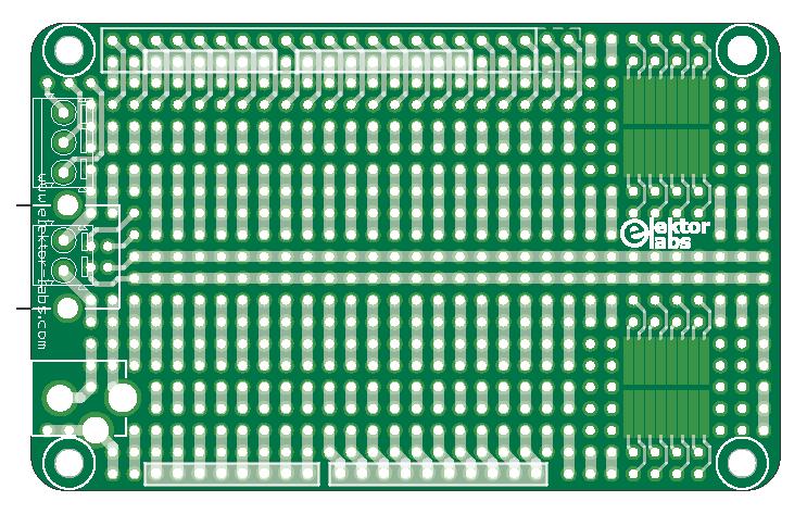 Elektor Labs Proto Board ~ ELPB-NG (150180-1)