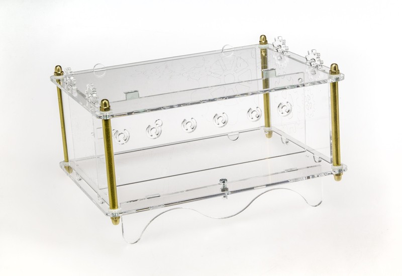 Acrylic glass case for Six Digit Nixie Clock (150189-72)