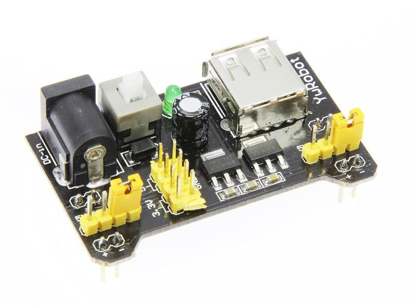 Adjustable Breadboard Power Supply (150246-91)