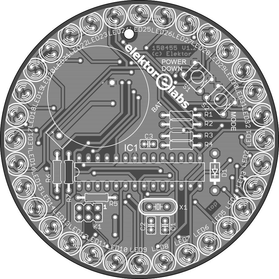 Programmeerbare LED-cirkel met Arduino (150455-1)