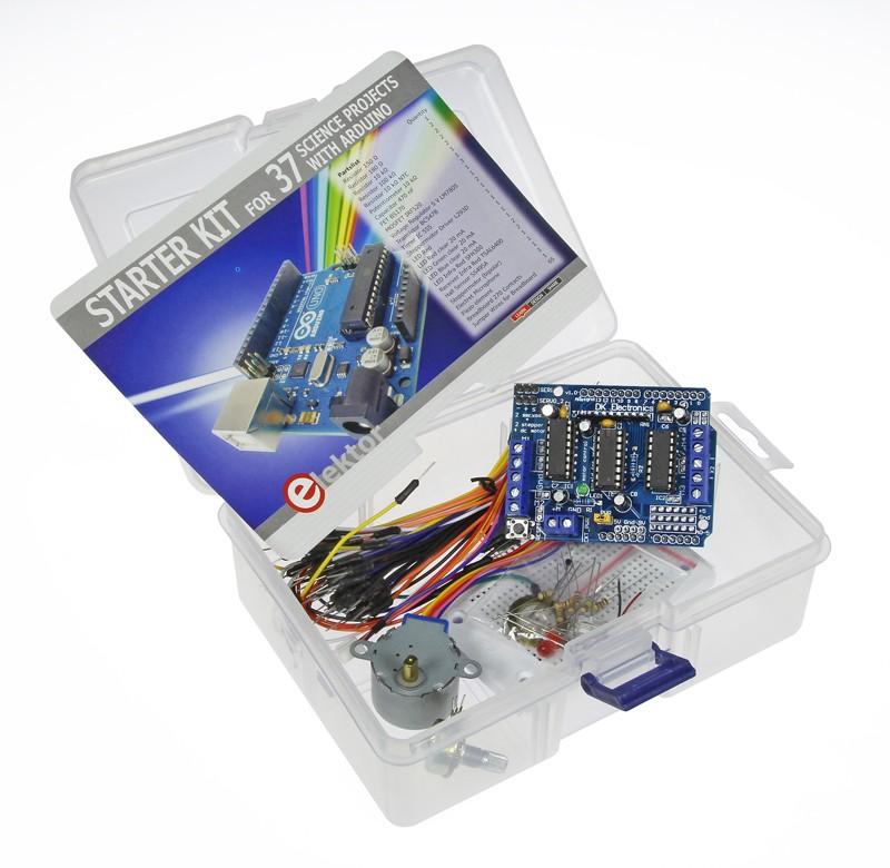 Starterkit bij boek 37 Natuurkunde projecten met Arduino (159009-71)