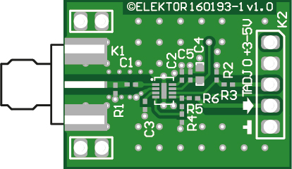 RF Power Meter (RF front-end board) - bare PCB