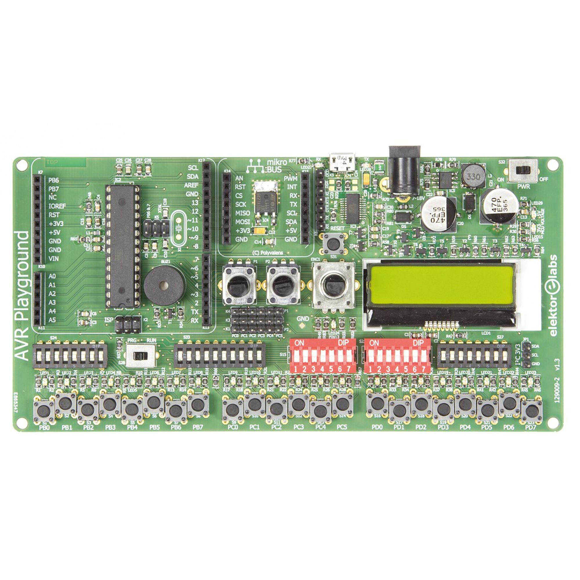 AVR playground - semi kit (129009-72)