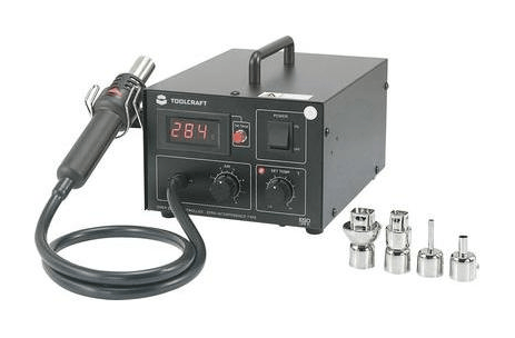 Toolcraft AT850D Hot Air Soldering Digital 550 W