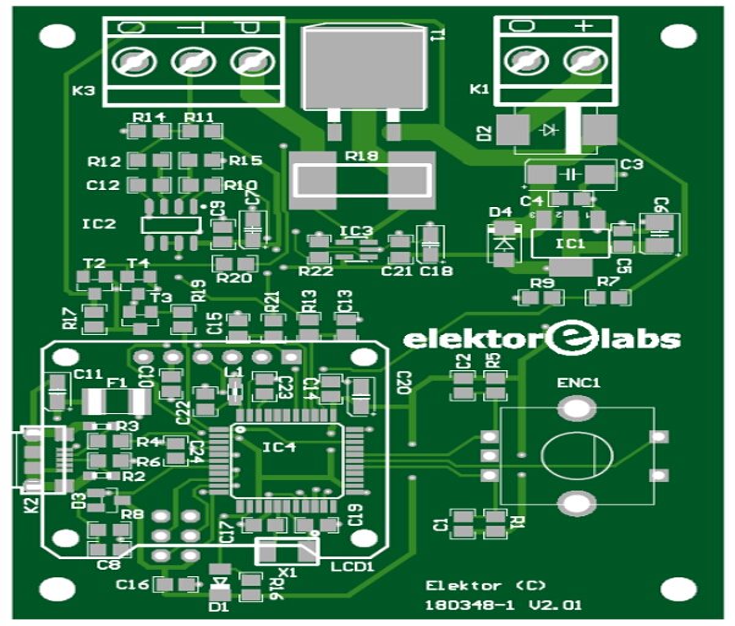 DIY solder station - bare PCB (180348-1)