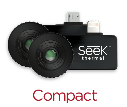 Seek Compact Thermal Camera (206x156) for Android