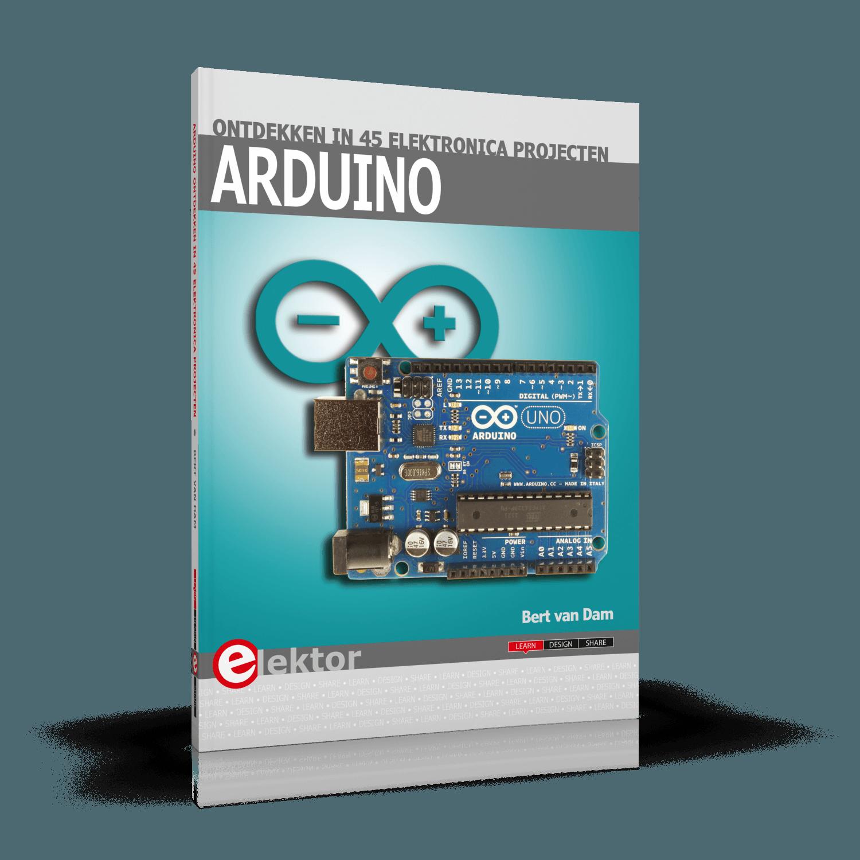 Arduino ontdekken in 45 Elektronica Projecten (E-book)