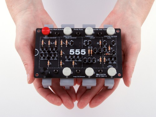 The Three Fives 555 Discrete Timer Kit