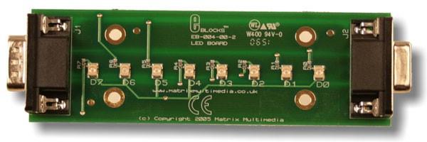 LED kaart (EB004)