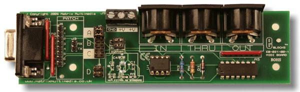 MIDI kaart (EB021)
