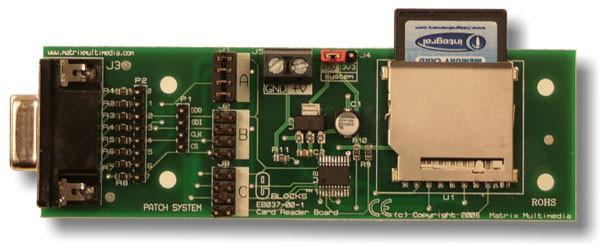 SD/MMC-kaartlezer (EB037)