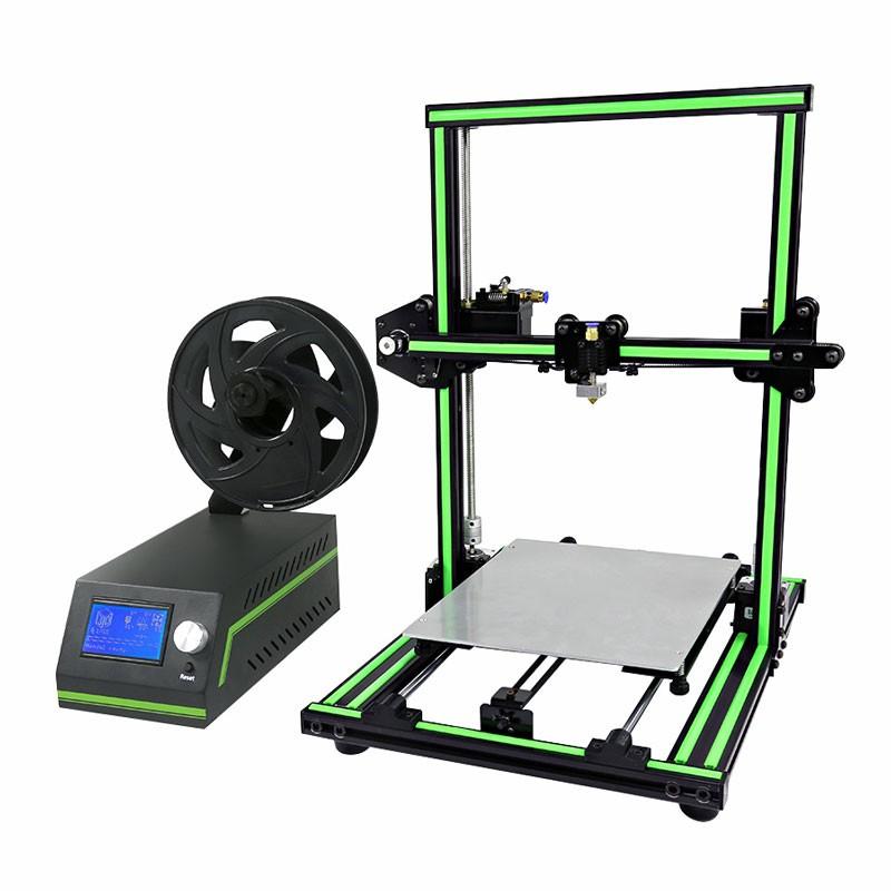 Anet E10 3D Printer (snelbouwpakket) inkl. 3 PLA-filamenten