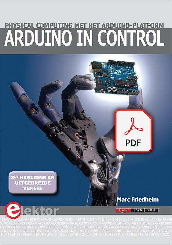 Arduino in Control (NL-3de herziene versie) E-Book