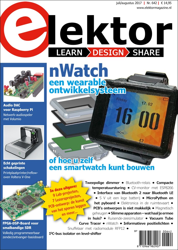 Elektor Magazine NL Juli/Augustus 2017 (PDF)
