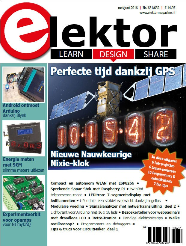 Elektor Magazine NL Mei/Juni 2016 (als PDF)