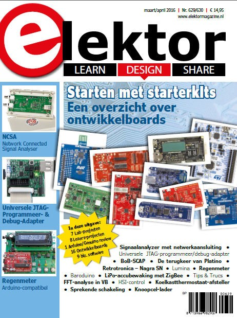 Elektor Magazine NL Maart/April 2016