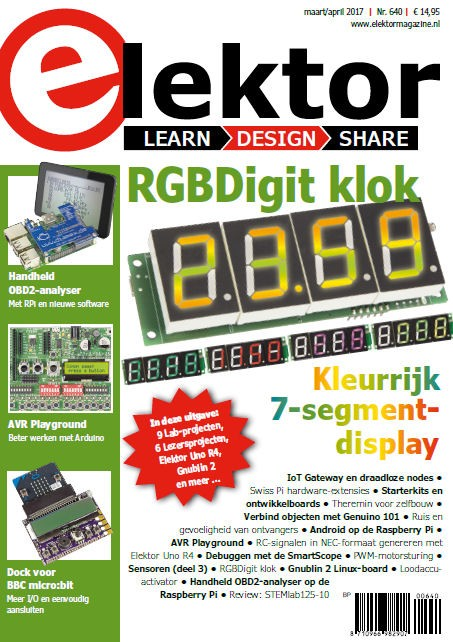 Elektor Magazine NL Maart/April 2017 (PDF)
