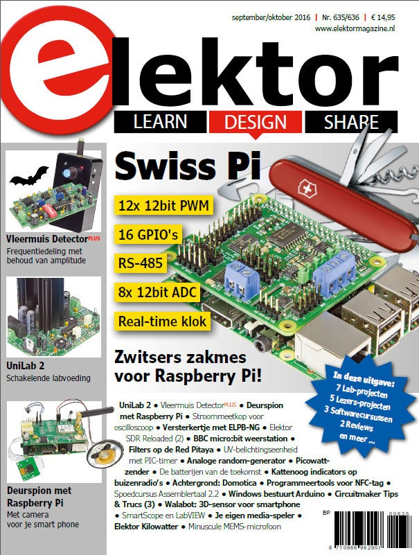 Elektor Magazine NL September/Oktober 2016 (als PDF)