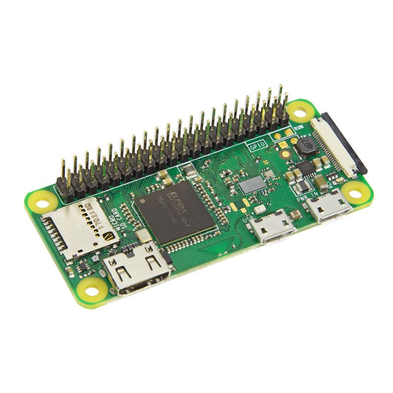 Raspberry Pi Zero WH (with pre-mounted Header) - Elektor