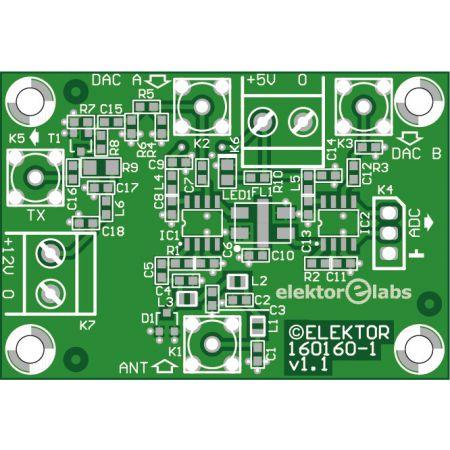 RF board for FPGA DSP - bare PCB (160160-1)