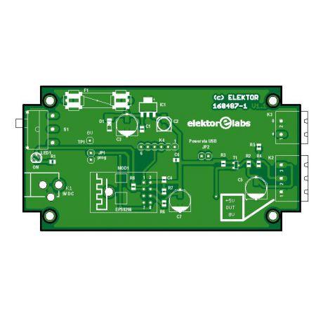 ESP8266 serveur LED RGB - bare PCB (160487-1)