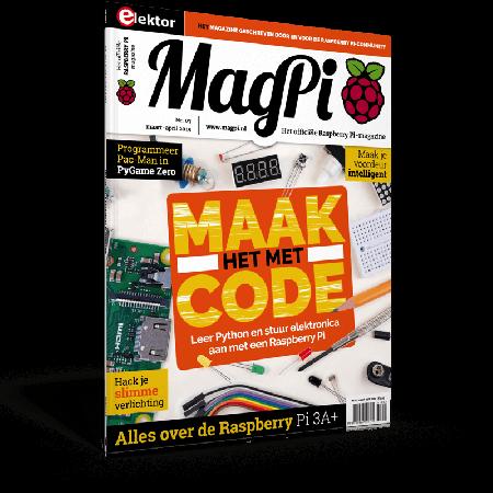 MagPi n°7 (Maart-April 2019) NL