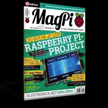 MagPi n°9 (Juli-Augustus 2019) NL