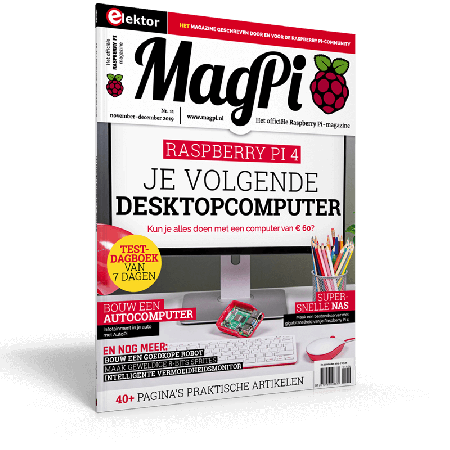MagPi n°11 (November/December 2019) NL