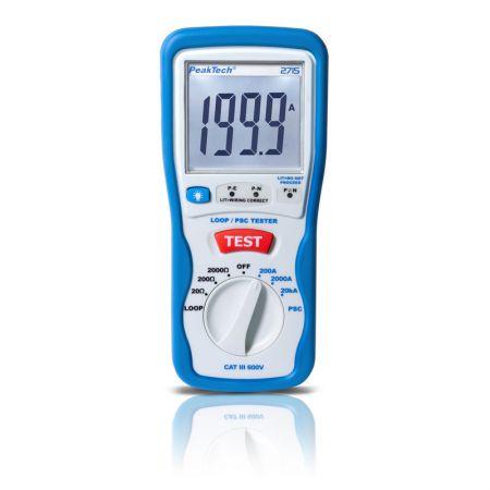 PeakTech 2715 Digital Loop / PSC Tester