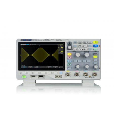 Siglent SDS1204X-E 4-channel Oscilloscope (200 MHz) - front view