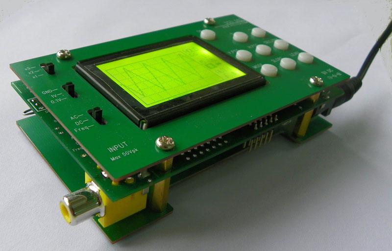 DSO062 LCD Oscilloscoop bouwpakket voor beginners