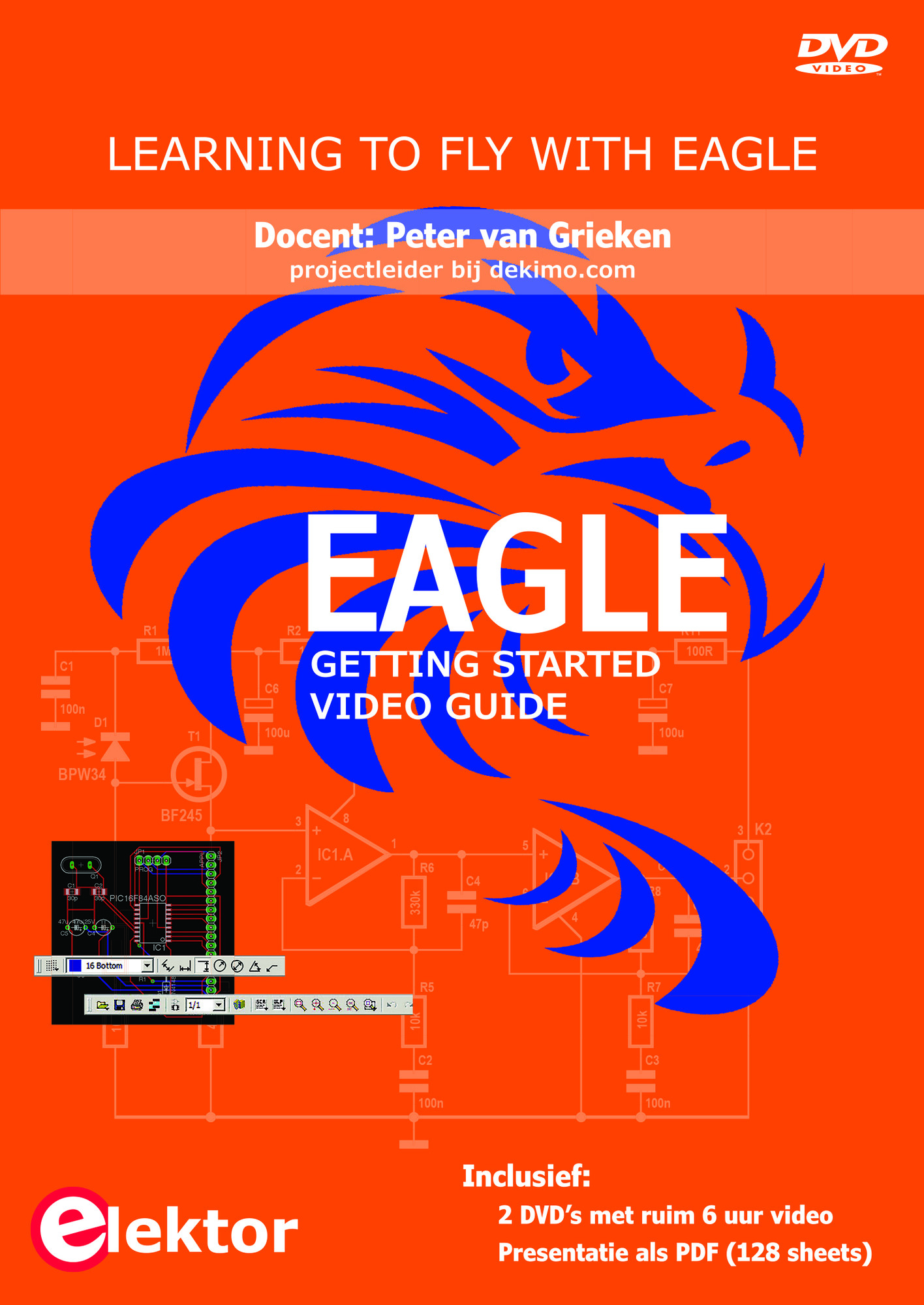 DVD Workshop Masterclass Eagle (NL)