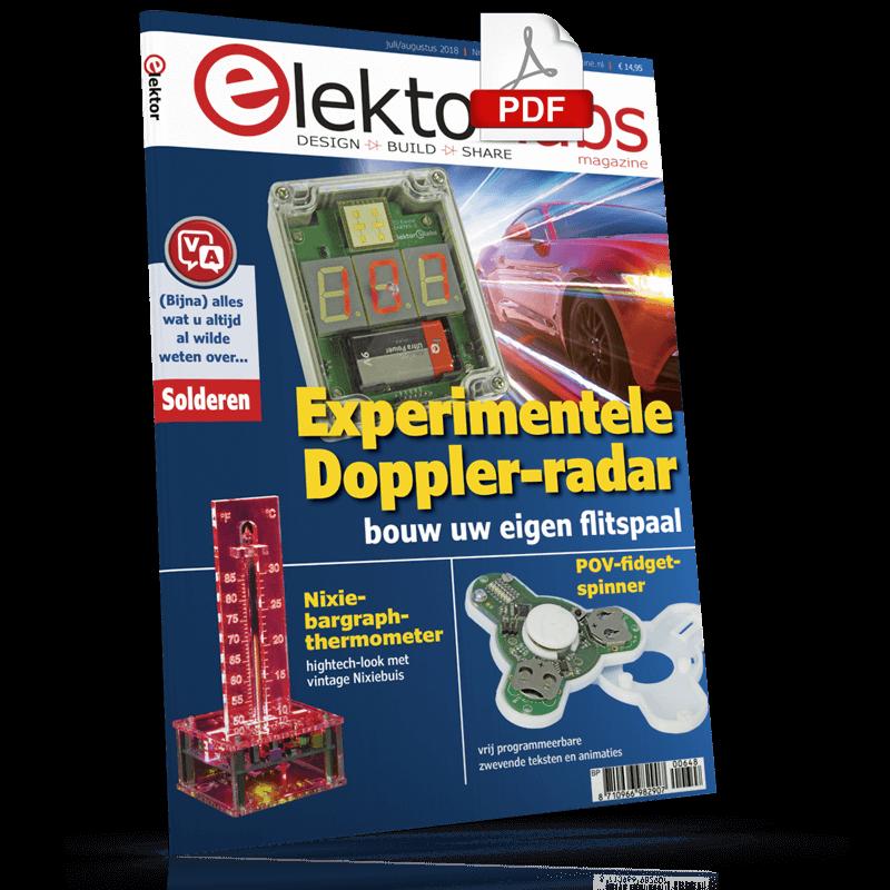 Elektor Magazine NL Juli/Augustus 2018 (PDF)