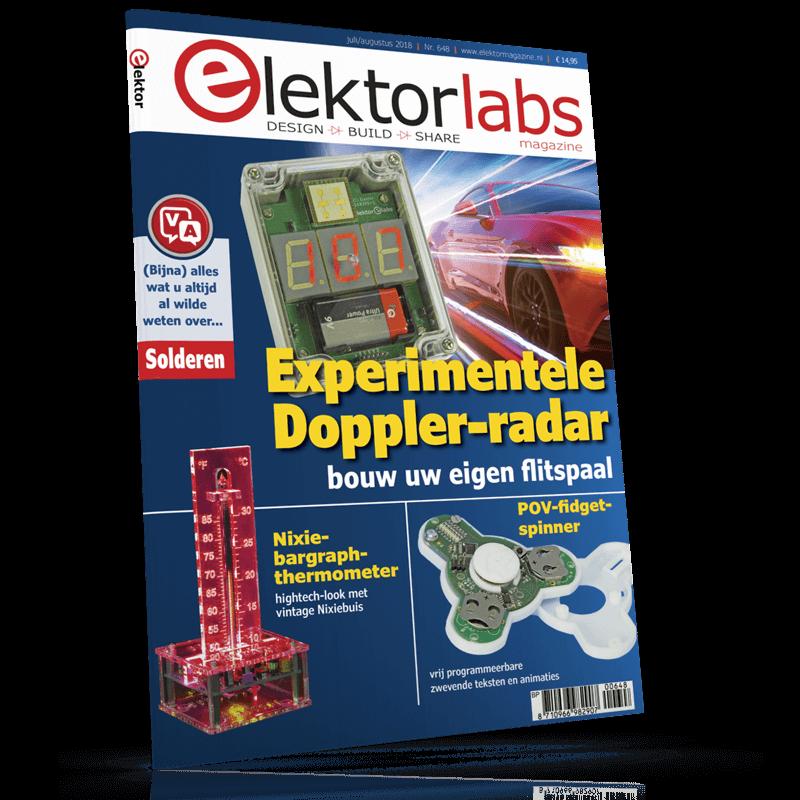 Elektor Magazine NL Juli/Augustus 2018