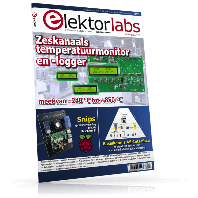 ElektorLabs Juli/Augustus 2019