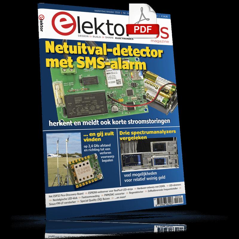 Elektor Magazine NL September/Oktober 2018 (PDF)