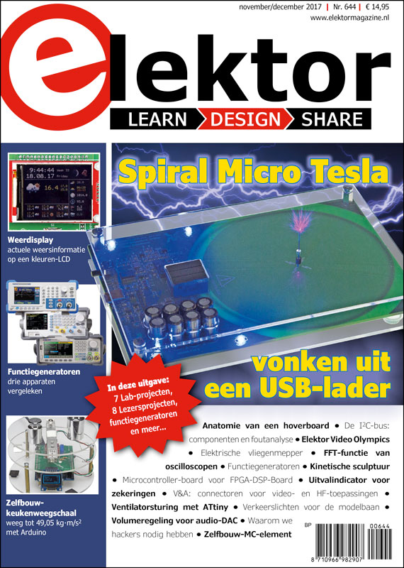 Elektor Magazine NL November/December 2017 (PDF)